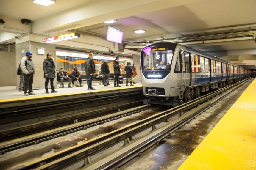 Le métro ouvert toute la nuit samedi