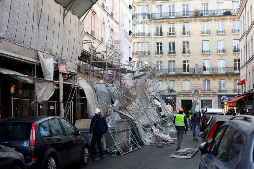 La tempête Eleanor fait un mort et 15 blessés en France