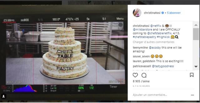 La pâtisserie passe à la casserole sur Netflix avec la série «Chef's Table»