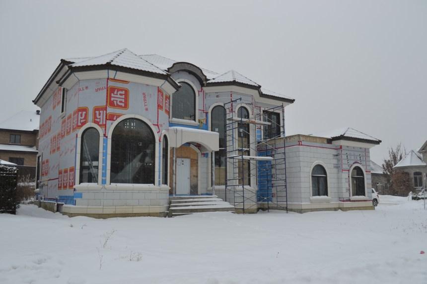 Sept ans pour construire une maison