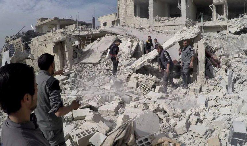 Syrie: 59 morts dans des frappes aériennes sur la Ghouta