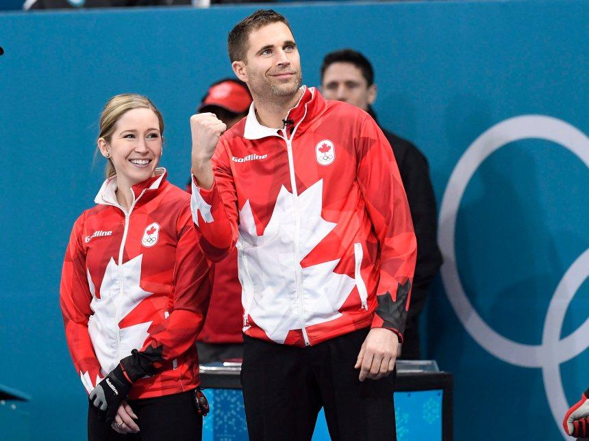 Médaille d'or pour le Canada en curling double mixte