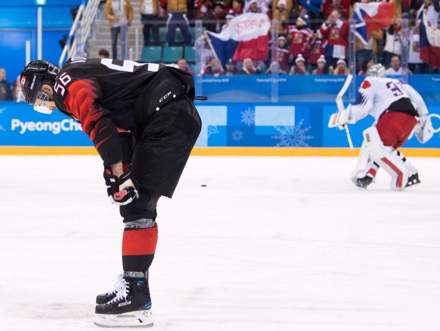 Hockey: La République tchèque bat le Canada 3-2 à Pyeongchang