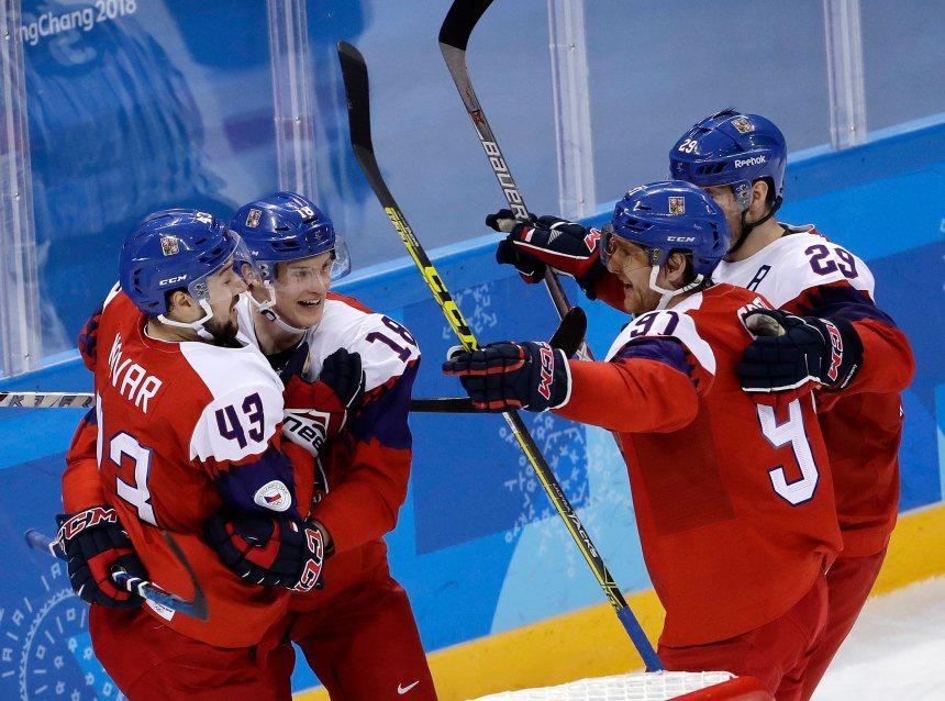 La République tchèque signe une troisième victoire en hockey