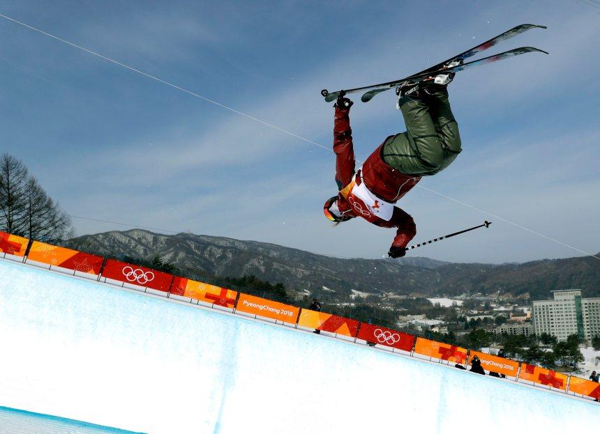 La skieuse canadienne Sharpe domine les qualifications en demi-lune