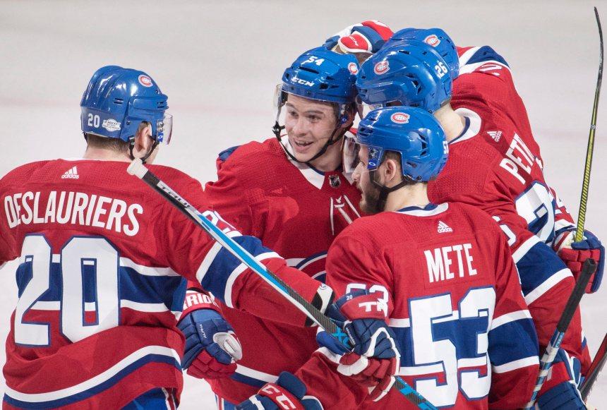 Le Canadien résiste et bat les Rangers 3-1