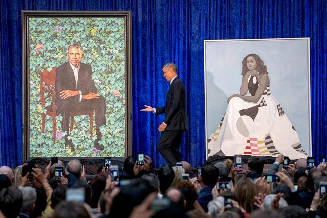 Deux nouveaux portraits colorés du couple Obama