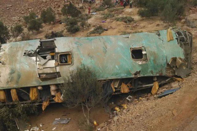 Un car tombe dans un ravin au Pérou: au moins huit morts