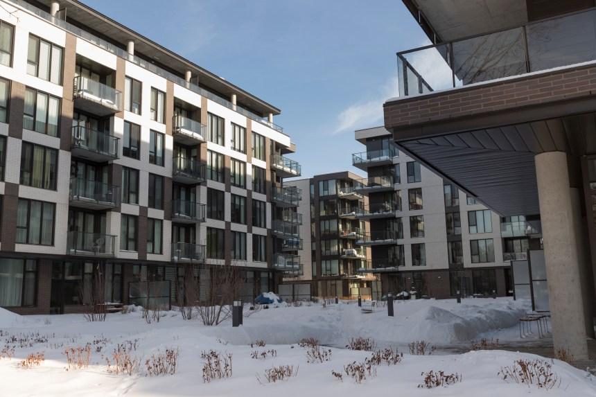 Le prix des condos en hausse à Montréal, sauf dans l'est