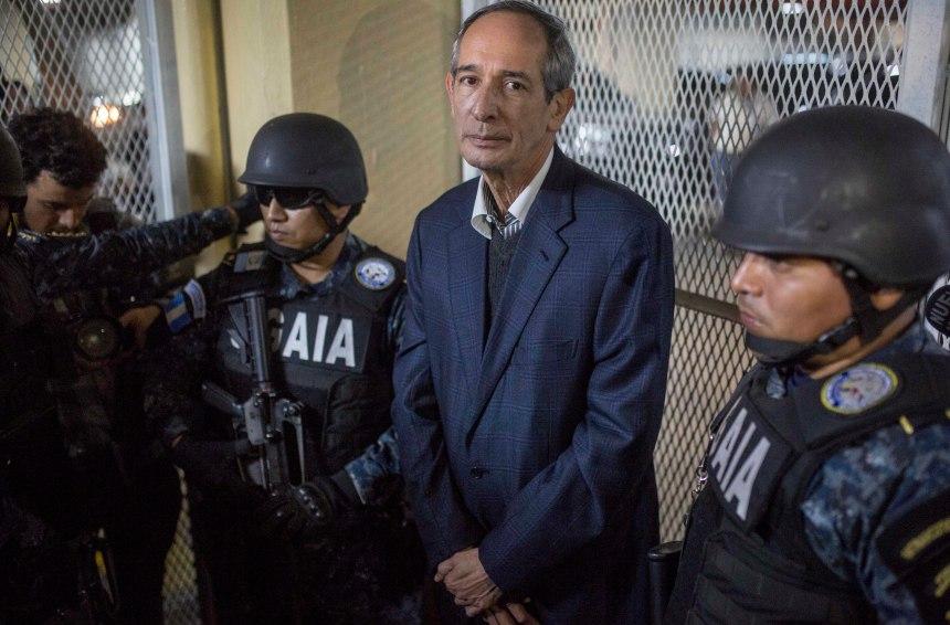 L'ancien président guatémaltèque arrêté pour corruption