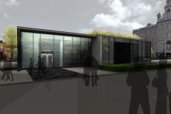 Début des travaux du nouvel édicule de la station de métro Mont-Royal