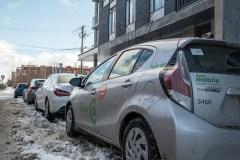 Chargement de la neige: Communauto saisit la balle au bond