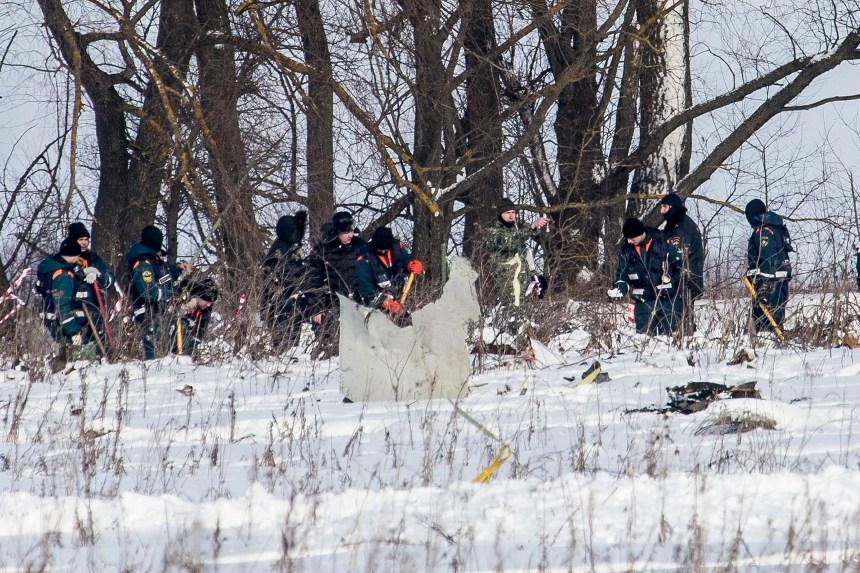 Écrasement d'avion en Russie: l'enquête continue
