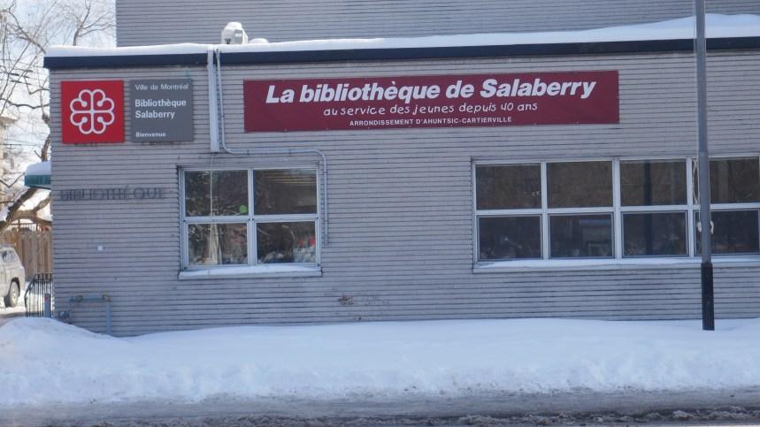 Le sort de la bibliothèque Salaberry inquiète