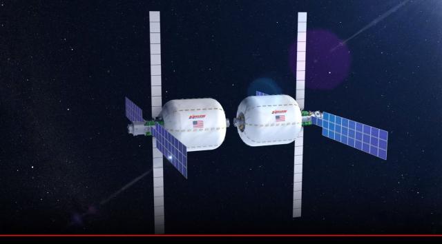 Des capsules hôtelières gonflables en orbite autour de la Terre dès 2021?