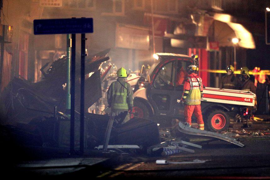Une explosion a fait cinq morts au Royaume-Uni