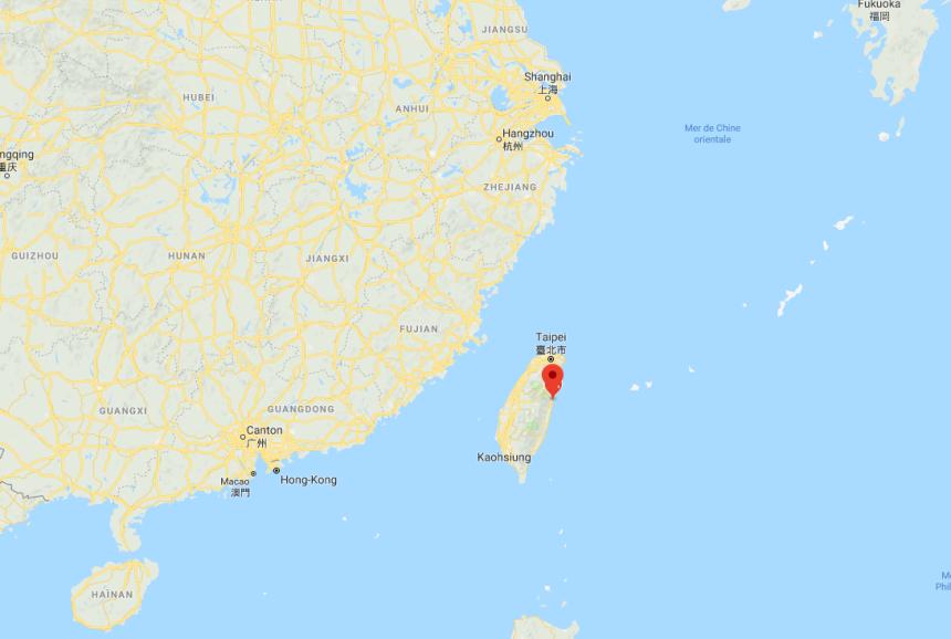 Un puissant séisme sur la côte est de Taïwan