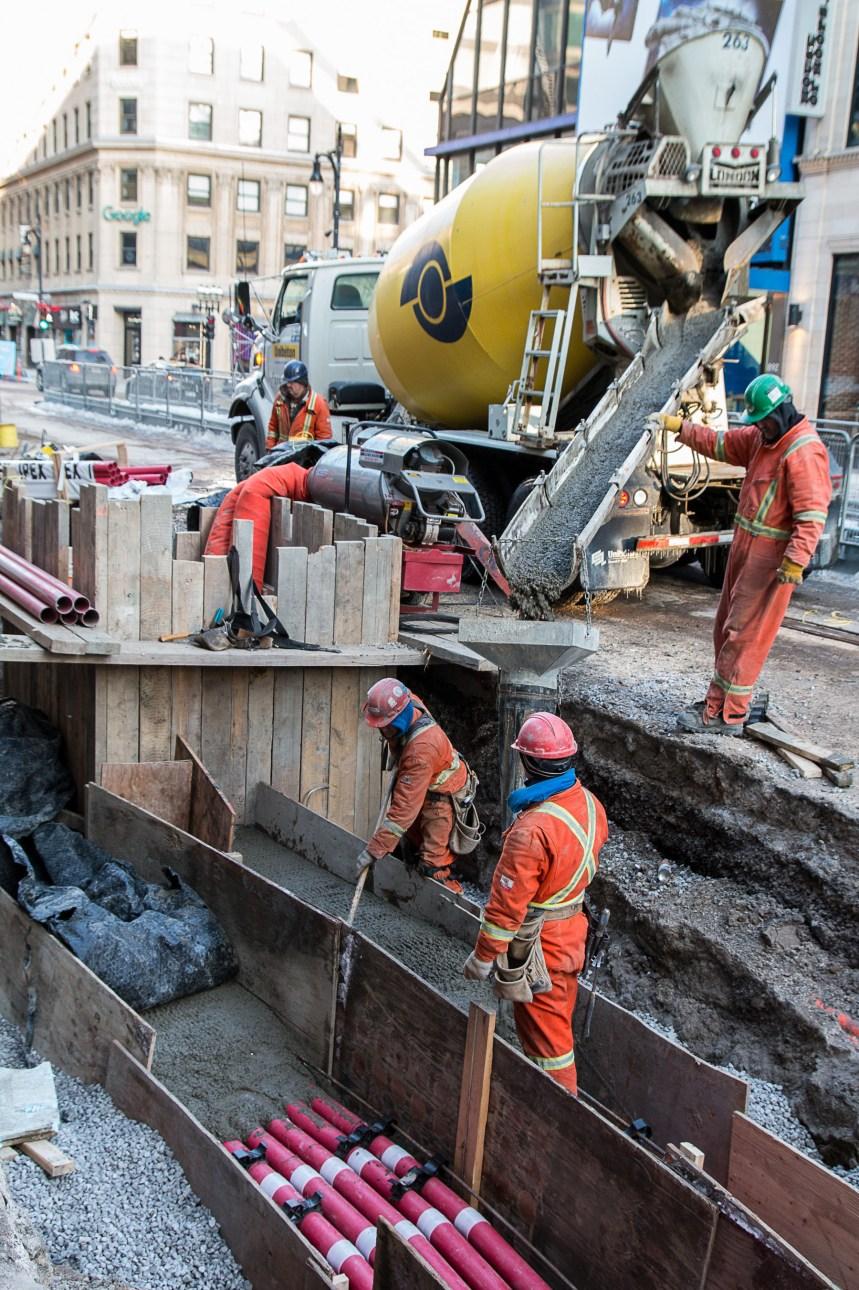 25M$ en compensations aux commerçants incommodés par les chantiers