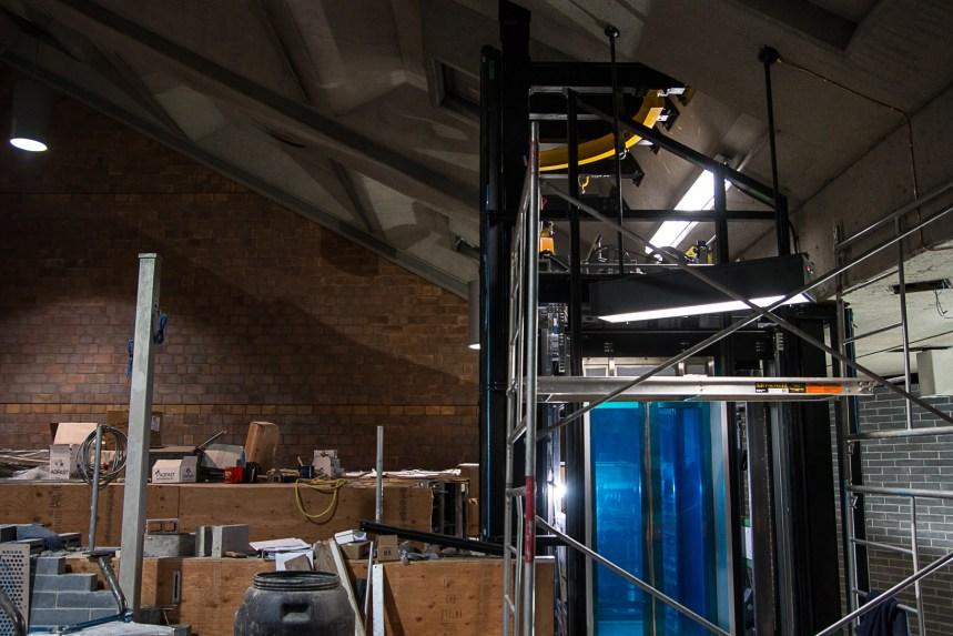 Le défi de la construction d'ascenseurs dans les stations de métro