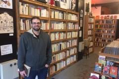 Verdun's vinyl and comic book guy