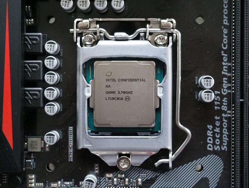 Mise à l'essai du processeur Intel Core i7-8700K