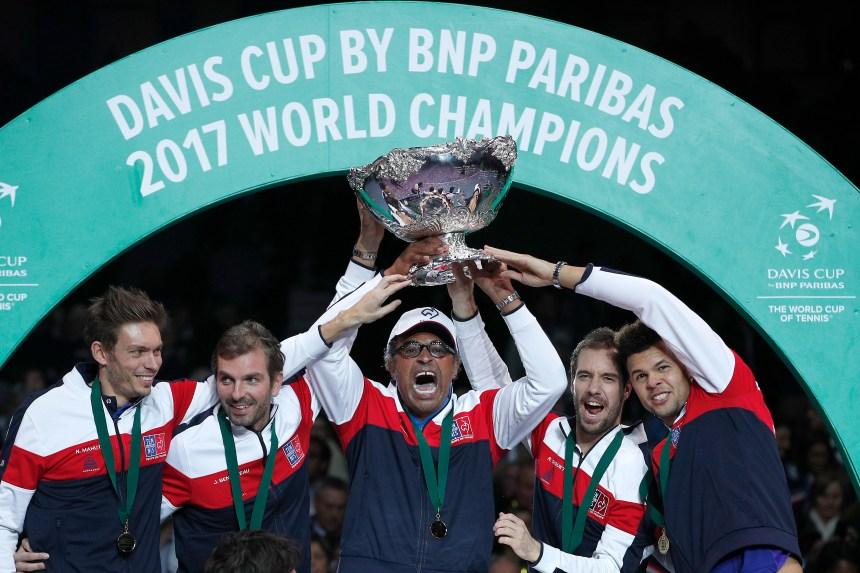 La Coupe Davis devient la Coupe du monde de tennis