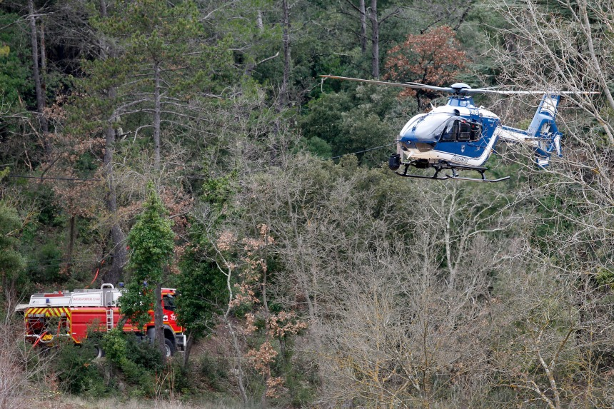 France: une collision entre 2 hélicos fait 5 morts