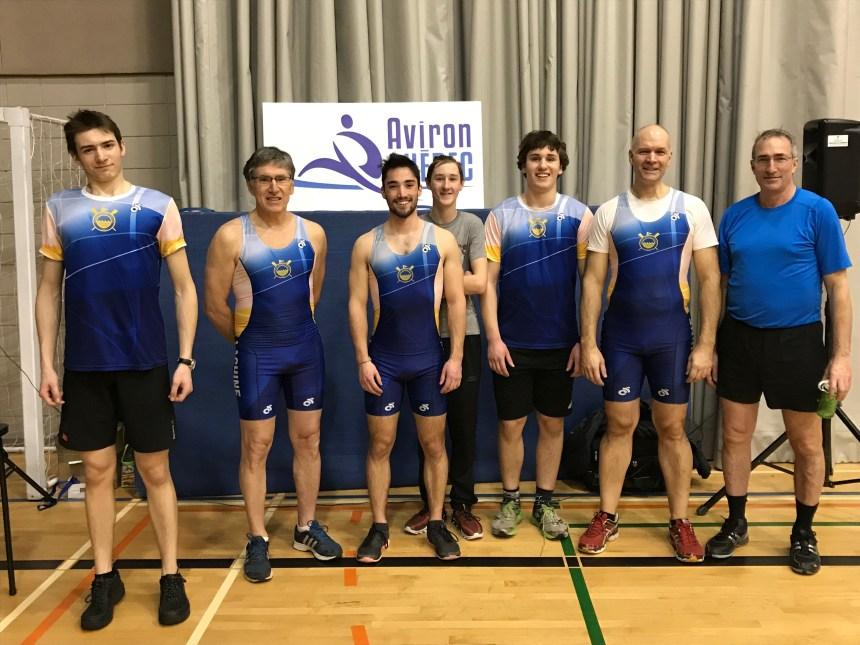 4 médailles pour le club Aviron Lachine