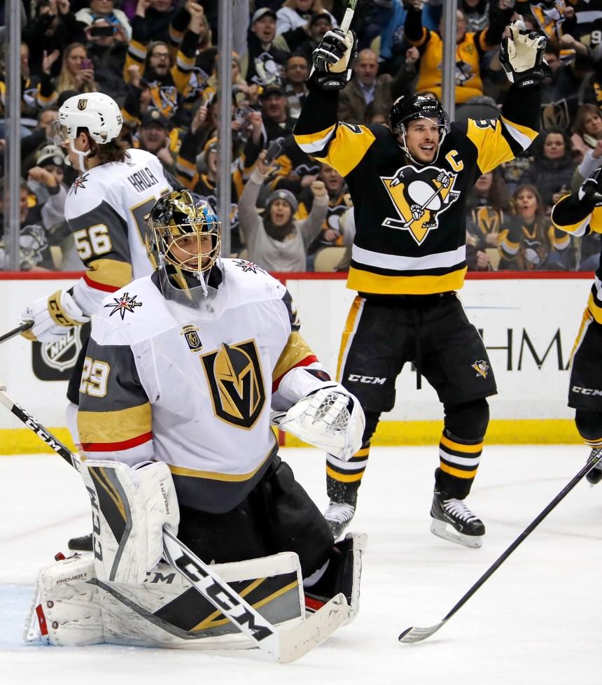 Les Penguins ruinent le retour de Fleury à Pittsburgh
