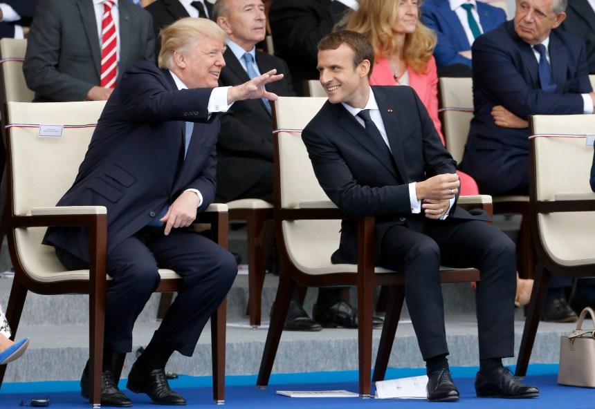 Impressionné par le 14 juillet, Trump veut un défilé militaire à Washington