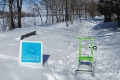La trottinette des neiges arrive à Montréal-Nord