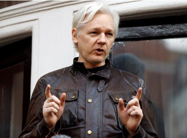 Assange espionné par une société espagnole travaillant pour la CIA?