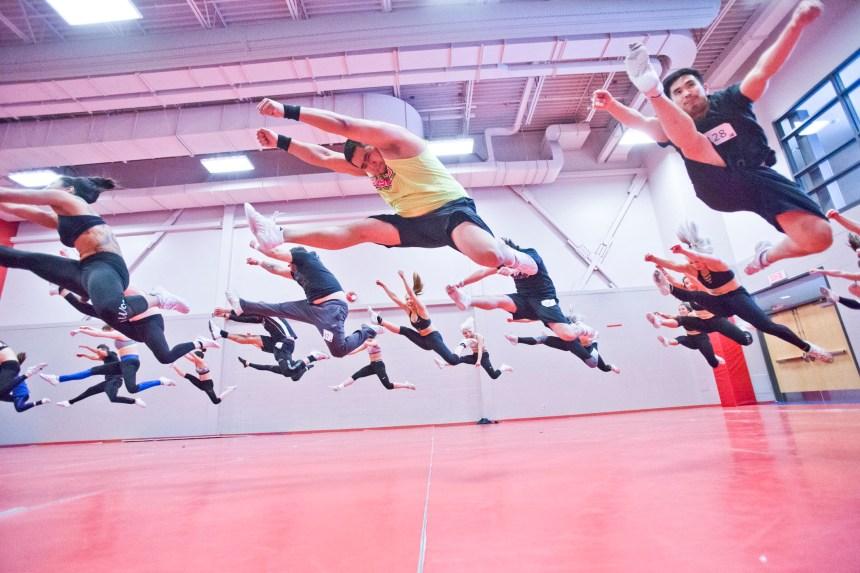 Une première équipe mixte de cheerleading pour les Alouettes
