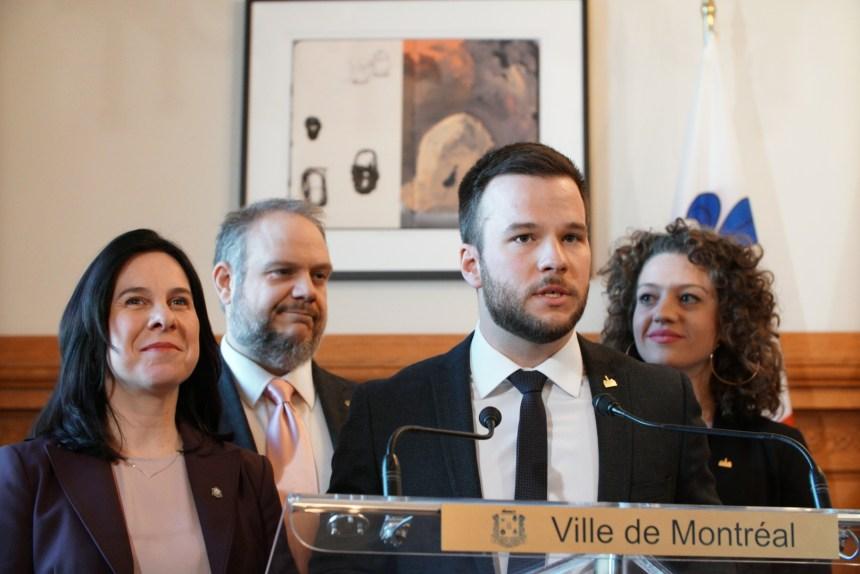 Hadrien Parizeau, élu de l'opposition, accède au comité exécutif