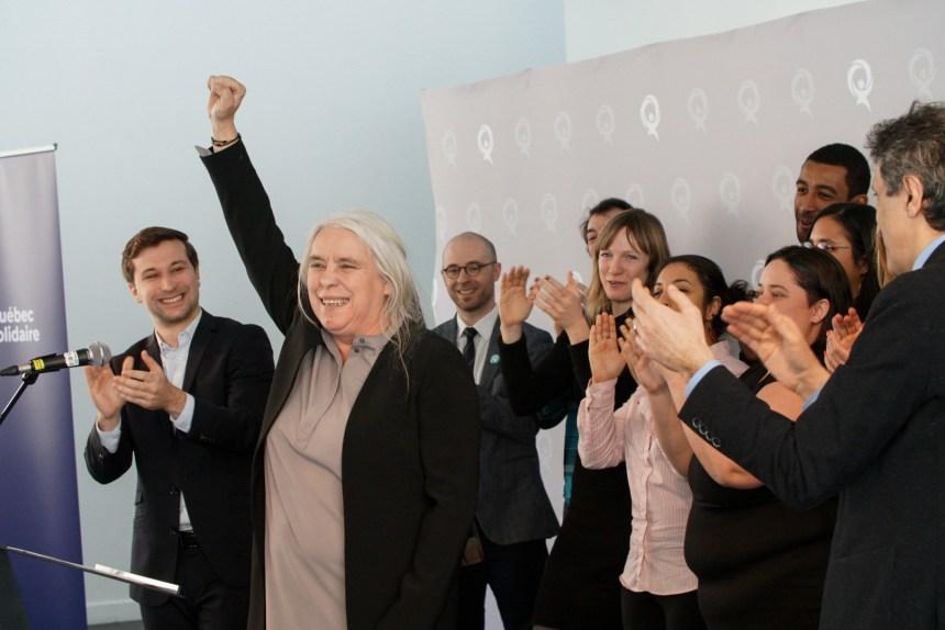 Manon Massé sera première ministre si QS remporte l'élection