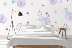 Six touches de violet dans la maison