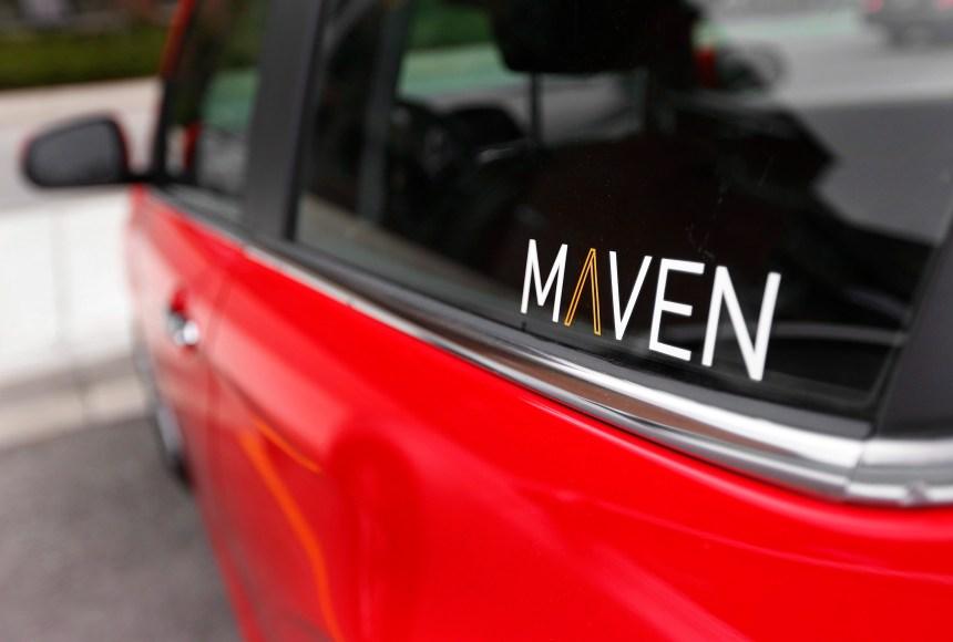 Le service d'autopartage Maven débarque à Toronto