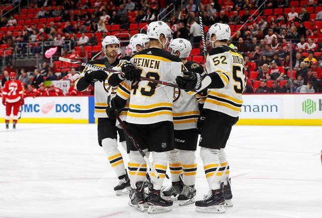 Troisième victoire de suite des Bruins