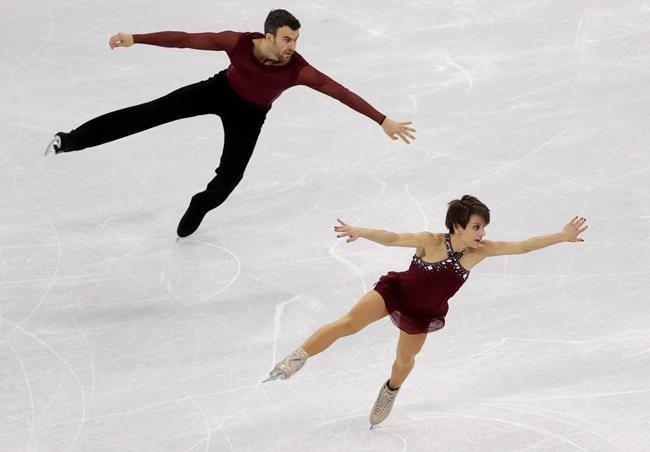 Duhamel et Radford remportent le bronze en patinage artistique