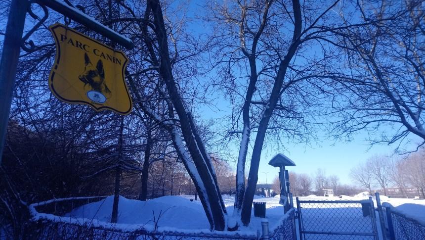 Réflexion sur la localisation du parc canin d'Outremont