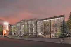 Début du chantier à la bibliothèque Maisonneuve, malgré les critiques