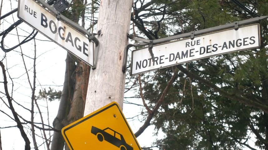 La rue Notre-Dame-des-Anges pas assez sécuritaire, selon des citoyens