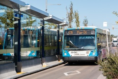 Des autobus articulés électriques circuleront sur le boulevard Pie-IX en 2022