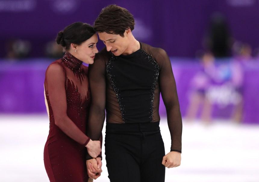 Virtue et Moir se couvrent d'or en danse sur glace