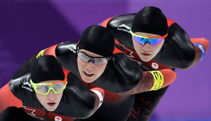 Les Canadiennes atteignent les demi-finales en patinage de vitesse