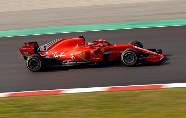 Vettel se montre le plus rapide de la 2e journée
