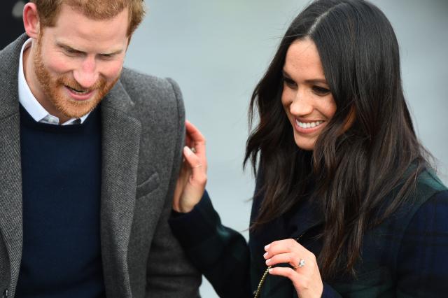 Têtes à chapeaux au mariage de Meghan et Harry