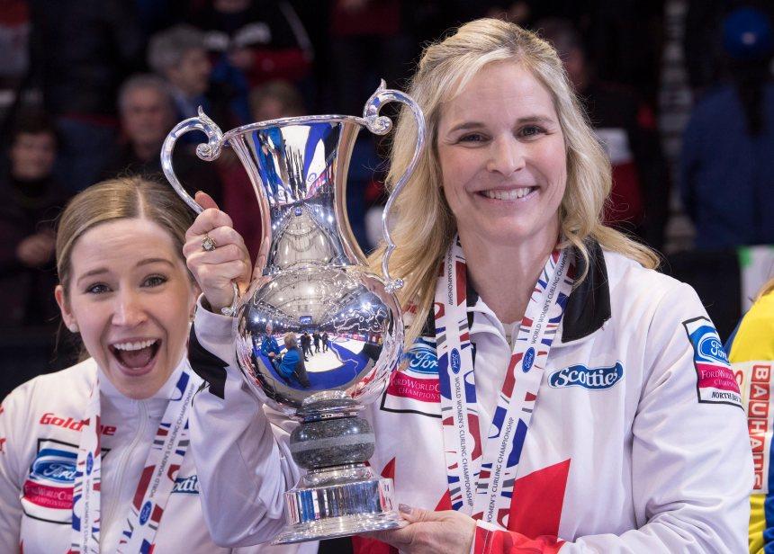 Curling féminin: Le Canada décroche l'or
