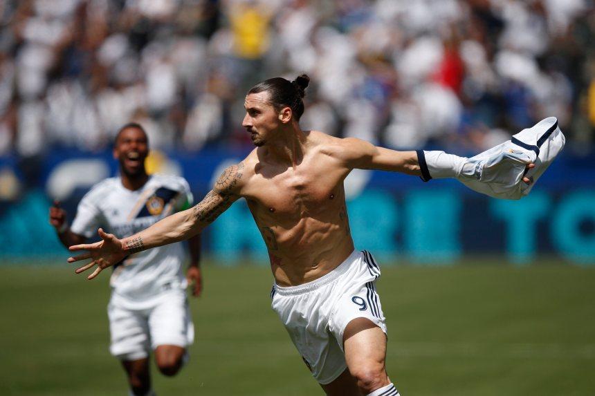 Débuts triomphants pour Ibrahimovic avec le Galaxy