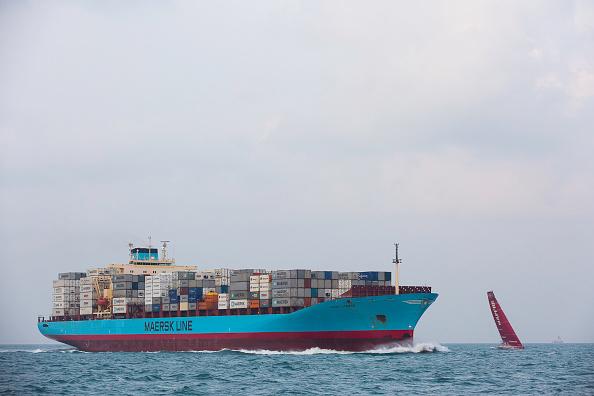 Violent incendie à bord d'un navire de Maersk